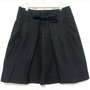 Chloe Textured Skirt Dots A line Tie